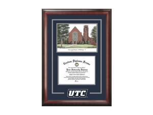 Campus Images University Of Tennessee Spirit Graduate Frame With Campus Image