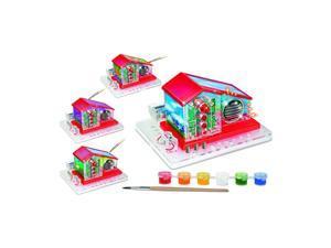 Tedcotoys Kids Preschool Daycare Greenhouse Radio Educational Toys