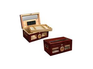 Prestige Import group 120 Ct. Lacquer Humidor with Beveled Glass