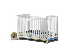 Dream On Me Violet 7 in 1 Convertible Life Style Crib - White