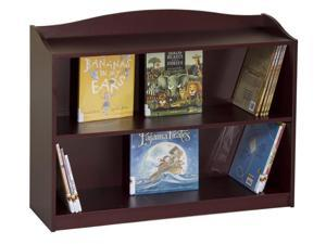 Guidecraft Kids Indoor Playschool 3 Shelf Bookshelf Cherry
