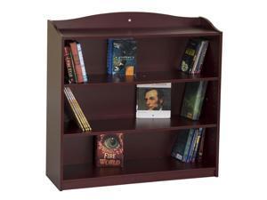 Guidecraft Kids Indoor Playschool 4 Shelf Bookshelf Cherry