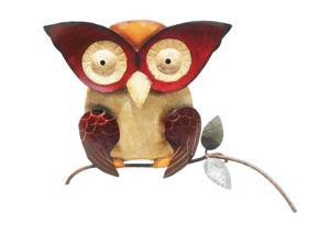D-Art collection Home Accent  Iron Owl  Decor Large