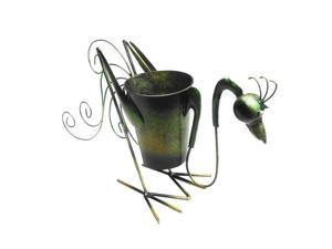 D-Art collection Home Accent  Iron Rooster Planter Decor