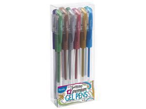 ECR4Kids Scrapbook GelWriter 12-Count Gel Pens - Metallic