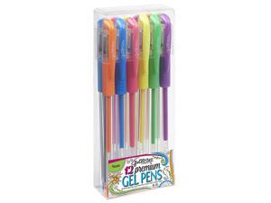 ECR4Kids Scrapbook GelWriter 12-Count Gel Pens - Neon