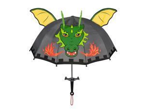 Kidorable grey dragon knight umbrellas