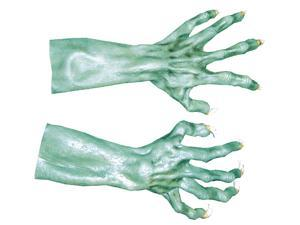 Morris Costumes Halloween Party Ultimate Monster Hand Green