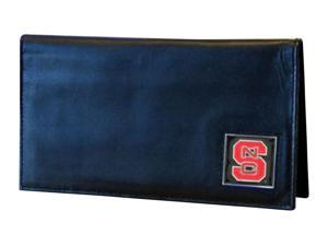 NCAA N. Carolina St. Wolfpack Deluxe Leather Checkbook Cover