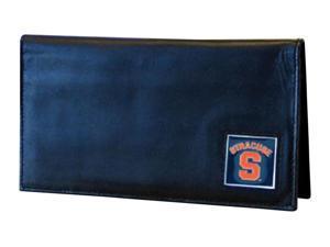 NCAA Syracuse Orange Deluxe Leather Checkbook Cover
