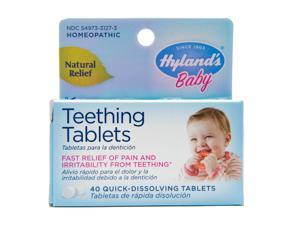 Hyland's Homeopathic Baby Natural Relief Teething Tablets - 40 Tablets, 8 Pack