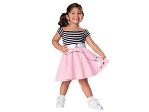 50s Girl Toddler Costume