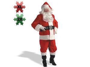 XX Large Professional Quality Santa Claus Costume for Men