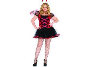 Lovely Ladybug Adult Plus Costume