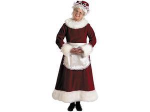 Mrs. Claus Dress Adult Plus Costume - Plus
