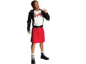 Mens Wwe Deluxe Rowdy Roddy Piper Costume