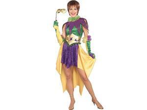 Adult Miss Mardi Gras Costume Forum Novelties 57198