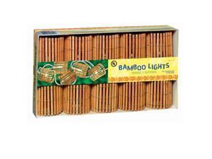"11"" Bamboo Barrel String Lights"