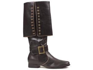 Black Captain Men's Pirate Boot Covers