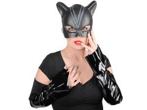 Catwoman Mask, Gloves, and Nails Blister Kit