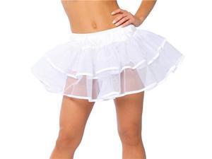 Double Layer White Petticoat