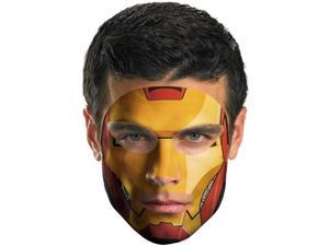 Iron Man Face Tattoo