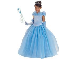 Blue Princess Cynthia Child Costume - Small (6)