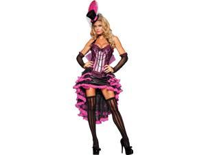 Burlesque Beauty Adult Costume - X-Small