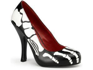Women's Skeleton Dress Shoe Pleaser X-Ray-12