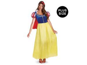 Snow White Deluxe Adult Plus Costume - XX-Large