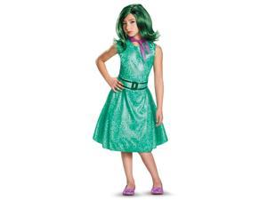 Disney Inside Out - Classic Girls Disgust Costume - Large (10-12)