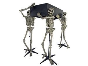 Skeleton Bearers with Coffin