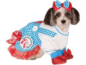 Wizard of Oz Dorothy Dog Costume