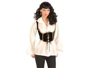 Adult Female Pirate Vest - Pirate Costume Accessories