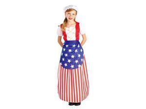 Girls Betsy Ross Costume - Betsy Ross Patriotic Costumes
