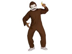 Adult Curious George Costume - Authentic Curious George Costumes