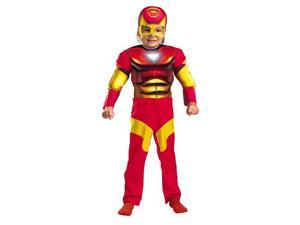 Toddler Deluxe Muscle Iron Man Costume - Iron Man Costumes