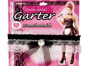 French Maid Leg Garter - French Maid Costumes