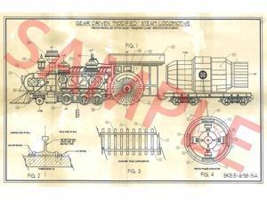 Steampunk Train Architect Plan - Steampunk Costumes