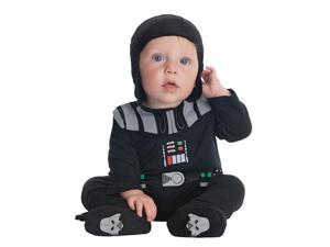 Darth Vader Bodysuit Baby Costume - Star Wars Costumes