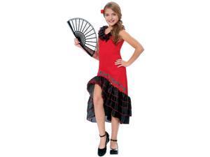 Senorita Girls Costume - Mexican and Spanish Costumes
