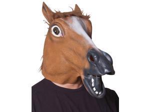 Adult Horse Head Costume Mask - Animal Masks