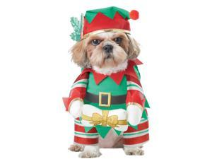 Elf Pup Dog Costume - Christmas Costumes