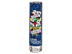 Ed Hardy Love & Luck by Christian Audigier Gift Set - 3.4 oz EDT Spray + 3.0 oz Shower Gel + 2.75 oz Deodorant Stick + 0.25 oz EDT Mini