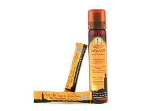 Hydrates Conditions Smoothes Shine Spray Treatment ( For All Hair Types ) by Agadir Argan Oil