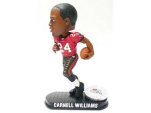 Tampa Bay Buccaneers Carnell Williams Forever Collectibles Black Base Edition Bobble Head
