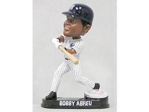 New York Yankees Bobby Abreu Forever Collectibles Blatinum Bobble Head