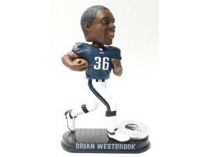 Philadephia Eagles Brian Westbrook Forever Collectibles Black Base Edition Bobble Head