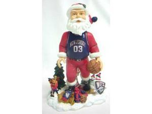 New Jersey Nets Santa Forever Collectibles Bobble Head