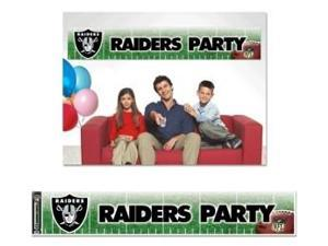 Oakland Raiders Party Banner